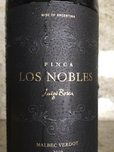 露奇波斯加芬卡贵族系马尔贝克味而多混酿干红Luigi Bosca Finca Los Nobles Field Blend Malbec Verdot