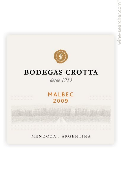 克罗塔马尔贝克干红Bodegas Crotta Malbec