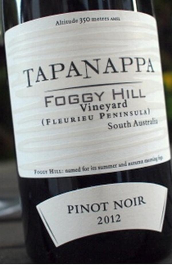 塔娜朦胧山庄园黑皮诺干红Tapanappa Foggy Hill Pinot Noir