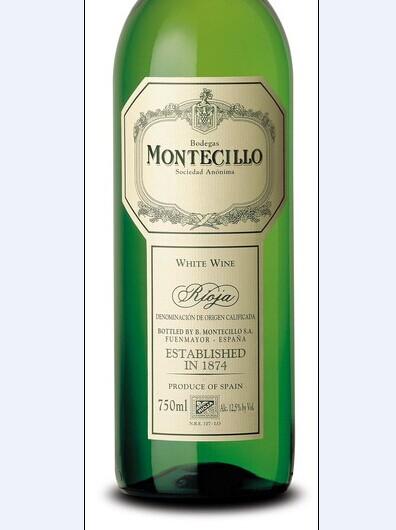 蒙特稀洛酒庄维尤拉干白montecillo viura (rioja)