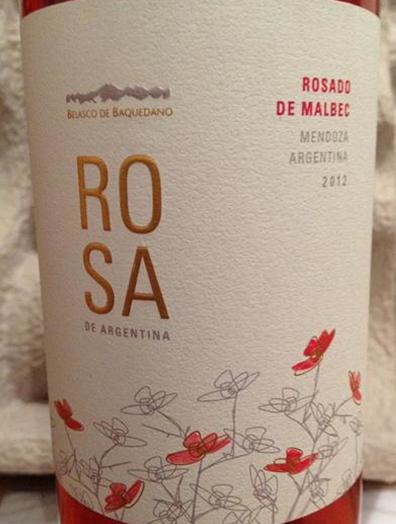 贝氏家族蔷薇系列阿根廷马尔贝克桃红Belasco de Baquedano Rosa de Argentina