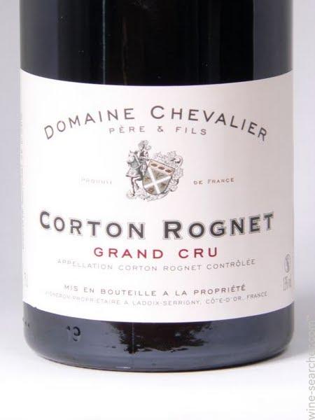 骑士科尔登-禾涅干红Domaine de Chevalier Corton Rognets