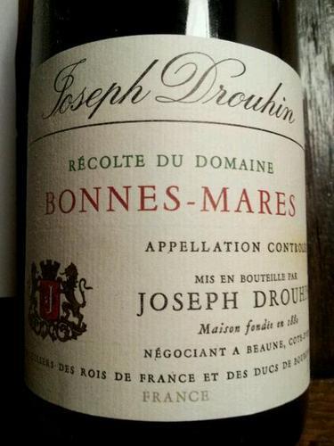 约瑟夫杜鲁安邦马尔园干红Joseph Drouhin Bonnes-Mares
