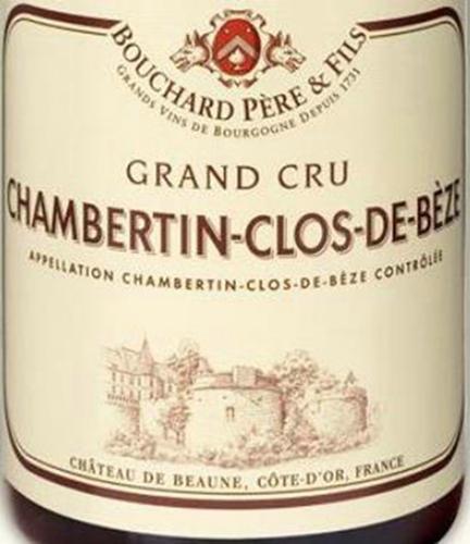 宝尚父子贝日园干红Bouchard Pere & Fils Clos de Beze