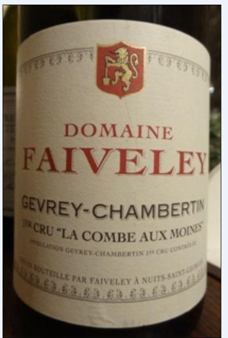 法维莱梅因山谷园干红Domaine Faiveley La Combe aux Moines