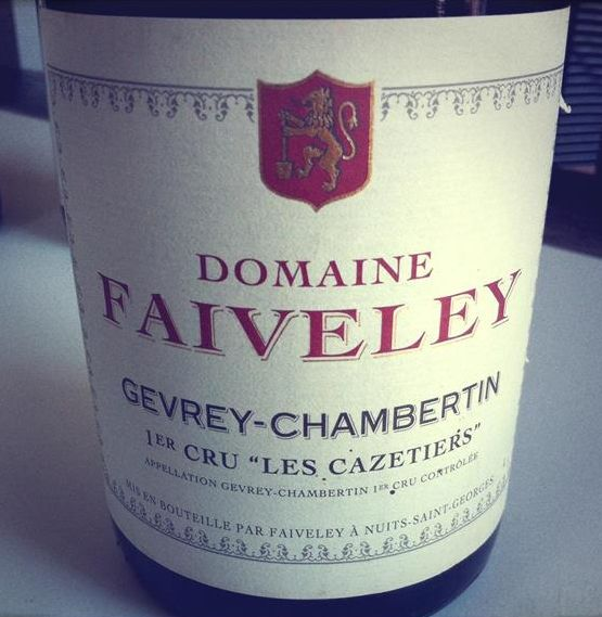法维莱卡泽蒂艾园干红Domaine Faiveley Les Cazetiers