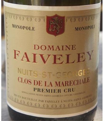 法维莱元帅夫人园干红Domaine Faiveley Clos de la Marechale