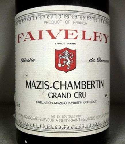 法维莱玛兹-香贝丹园干红Domaine Faiveley Mazis-Chambertin