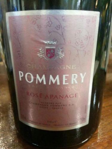 伯瑞阿帕娜桃红香槟Champagne Pommery Apanage Brut Rose