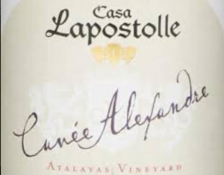 拉博丝特亚历山大霞多丽干白Casa Lapostolle Cuvee Alexandre Chardonnay