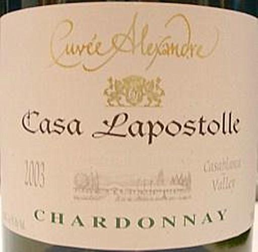 拉博丝特霞多丽干白Casa Lapostolle Chardonnay