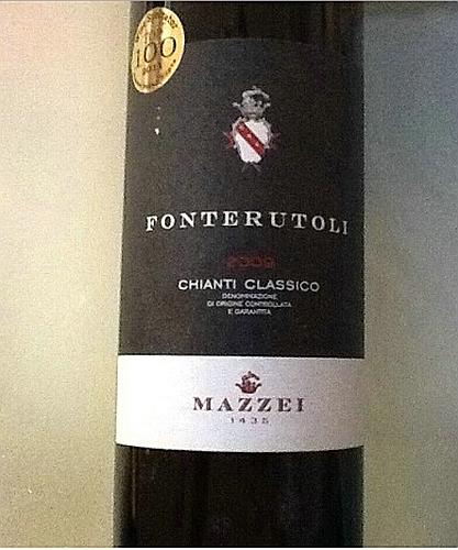 马泽世家凤都经典基安帝干红Marchesi Mazzei Fonterutoli chianti classico