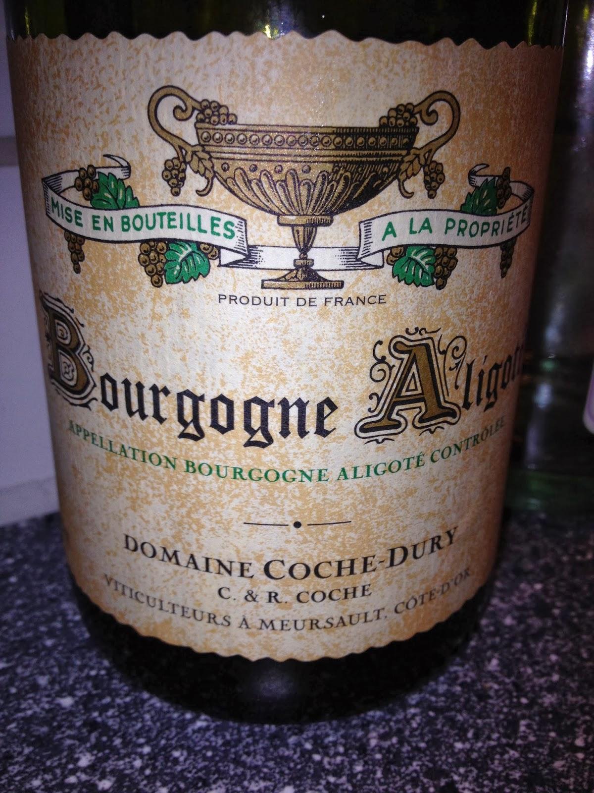 科奇勃艮第阿里哥特干白J.-F Coche-Dury Bourgogne Aligote