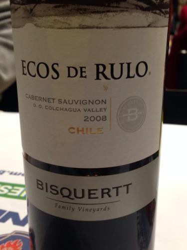 彼斯克提回声赤霞珠干红Vina Bisquertt Ecos de Rulo Cabernet Sauvignon