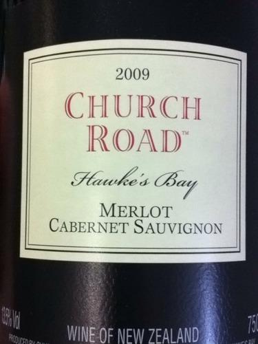 车路德梅洛赤霞珠干红Church Road Merlot Cabernet Sauvignon