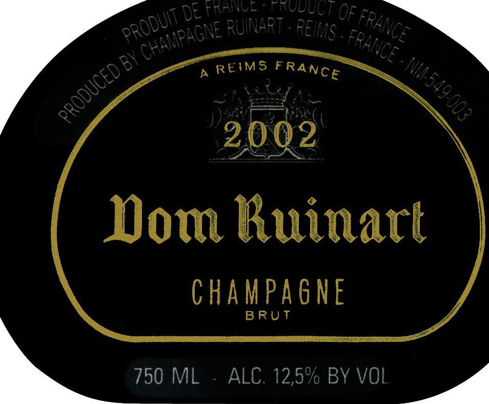 汝纳特修士香槟Champagne Ruinart Dom Ruinart