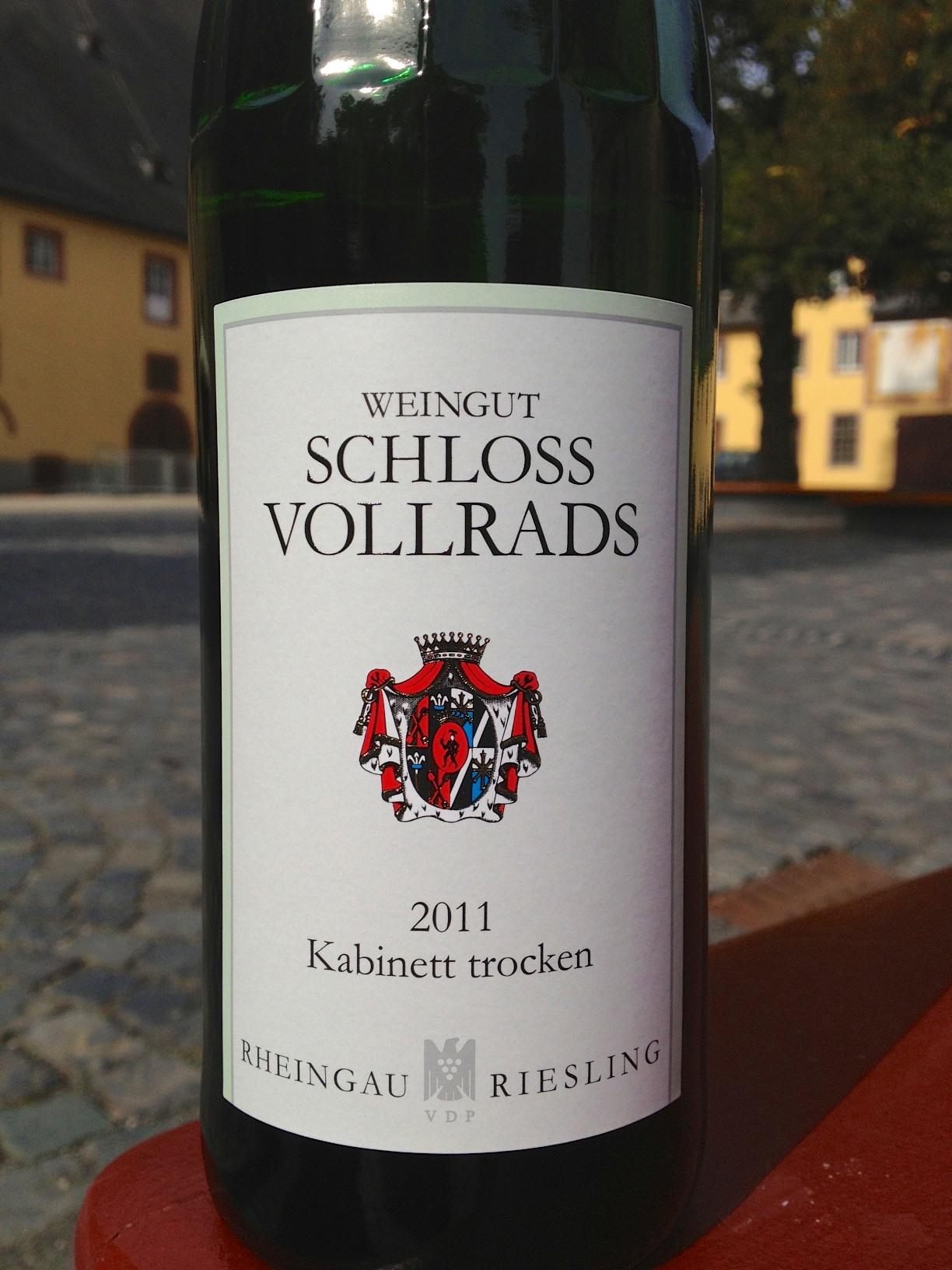 沃尔莱茨珍藏雷司令干白Schloss Vollrads Riesling Kabinett Trocken