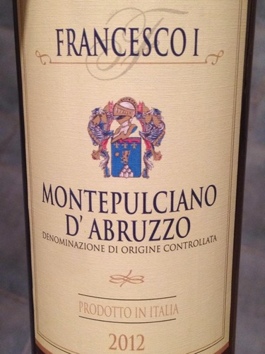 萨瓦弗朗西斯科阿布鲁佐蒙特布查诺干红Salvadori Francesco I Montepulciano d'Abruzzo