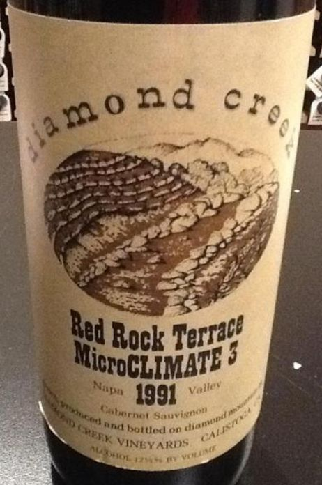 钻石溪红石园赤霞珠干红(3号微气候)Diamond Creek Red Rock Terrace Microclimate 3 Cabernet Sauvignon