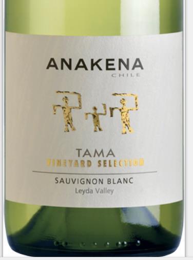 安娜肯纳达玛系列长相思干白Anakena Tama Sauvignon Blanc