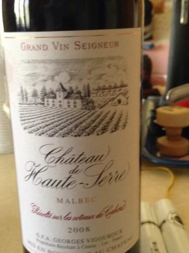 乔治·维格鲁高赛尔马尔贝克干红Georges Vigouroux Chateau de Haute-Serre Malbec
