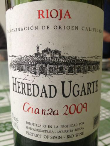 珈帝陈酿干红Heredad Ugarte Crianza