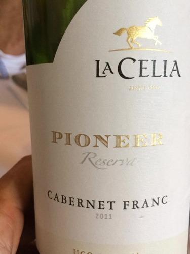 拉希莉亚先锋品丽珠干红Finca La Celia Pioneer Cabernet Franc