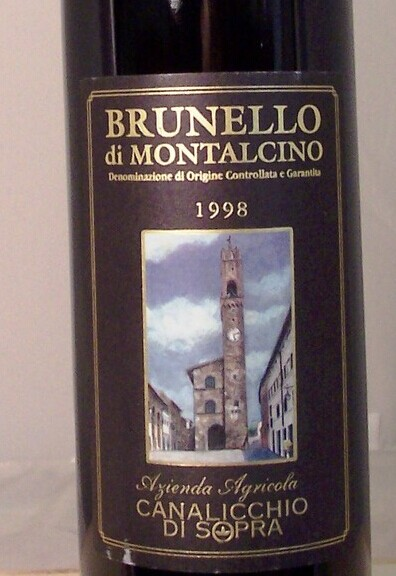 凯来丽可布鲁奈罗蒙塔希诺干红Canalicchio Di Sopra Brunello Di Montalcino