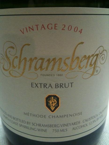 世酿伯格特别起泡酒Schramsberg Extra Brut