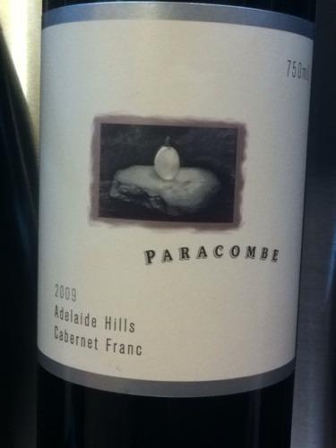帕洛岗酒庄品丽珠干红Paracombe Cabernet Franc