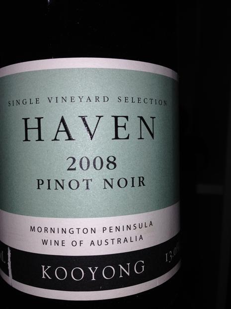 珀翡库扬表天堂黑皮诺干红Port Phillip Estate Kooyong Haven Pinot Noir