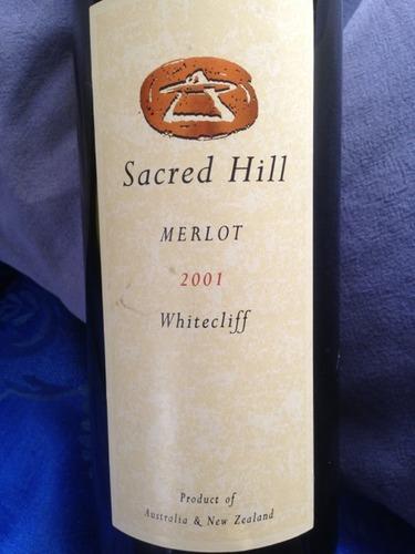 圣山峭壁系列梅洛干红Sacred Hill Whitecliff Merlot