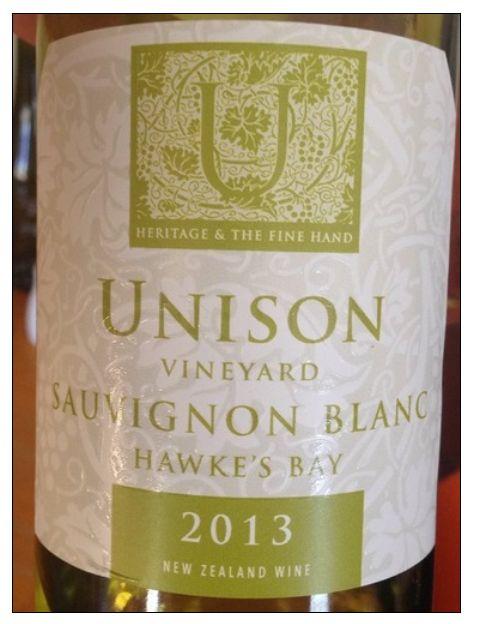 尤尼森长相思干白Unison Vineyard Sauvignon Blanc