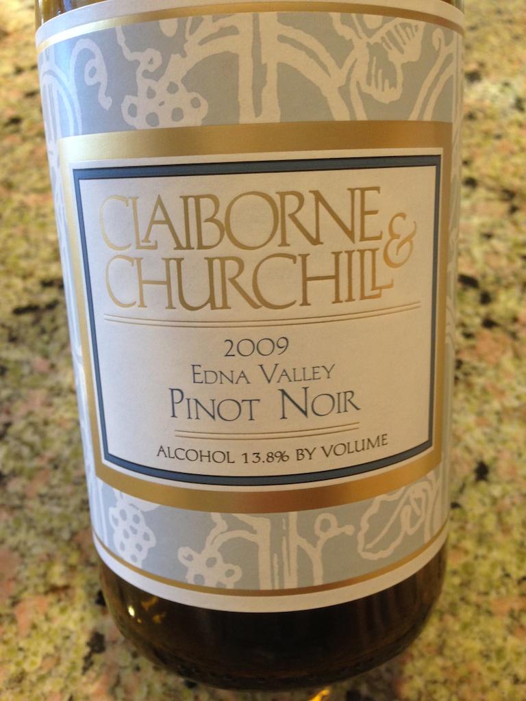 克莱本丘吉尔经典黑皮诺干红Claiborne & Churchill Classic Pinot Noir
