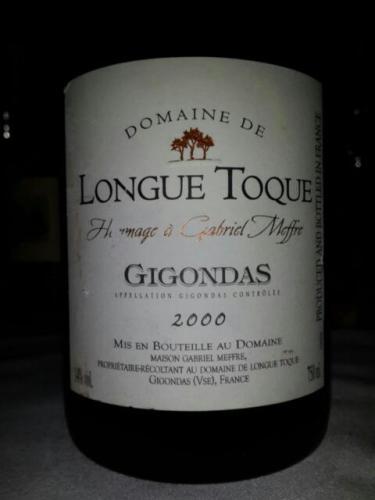 加百利美福龙腾庄园吉恭达斯干红Gabriel Meffre Domaine de Longue Toque Gigondas Red