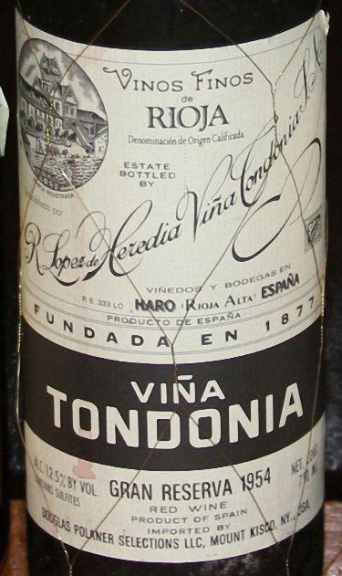洛佩兹雷迪亚托多尼亚格兰珍藏干红R Lopez de Heredia Vina Tondonia Gran Reserva