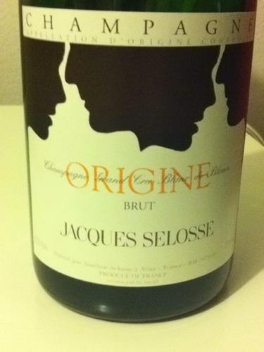 瑟洛斯原始香槟Jacques Selosse Origine Brut