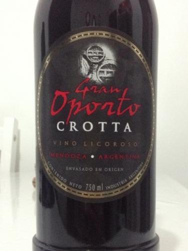 克罗塔顶级波尔图波特风格加强酒Bodegas Crotta Gran Oporto