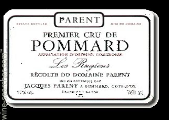 巴航雨润园干红Domaine Parent Les Rugiens