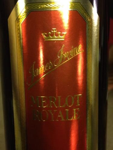 欧文酒庄尊荣梅洛干红葡萄酒Irvine ROYAL Grand Merlot