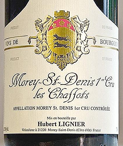 休伯特夏福特园干红Domaine Hubert Lignier Les Chaffots