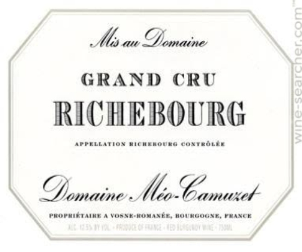 凯慕思里奇堡列级园干红Domaine Meo-Camuzet Richebourg Grand Cru