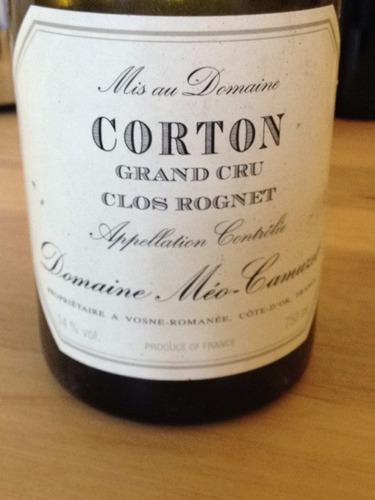 凯慕思哥尔顿列级园干红Domaine Meo-Camuzet Corton Clos Rognet Grand Cru
