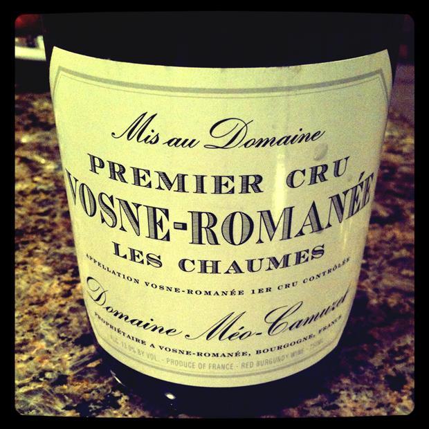 凯慕思查慕斯一级园干红Domaine Meo-Camuzet Vosne-Romanee Les Chaumes Premier Cru