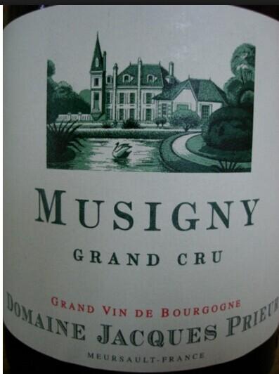 雅克普利尔特级米西尼干红Domaine Jacques Prieur Musigny Grand Cru
