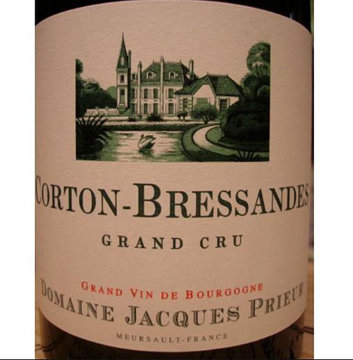雅克普利尔特级哥尔顿布雷德干红Domaine Jacques Prieur Corton-Bressandes Grand Cru