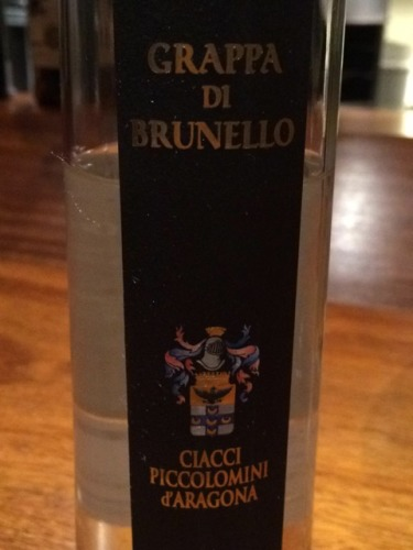 奇雅布鲁奈罗蒸馏酒Ciacci Piccolomini d'Aragona Grappa di Brunello