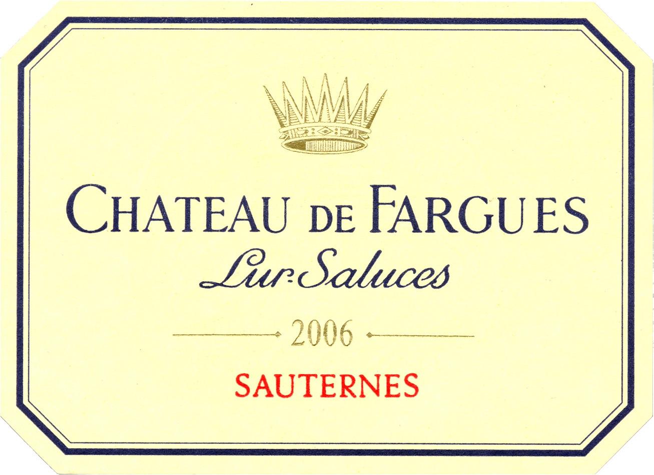 法歌酒庄甜白Chateau de Fargues