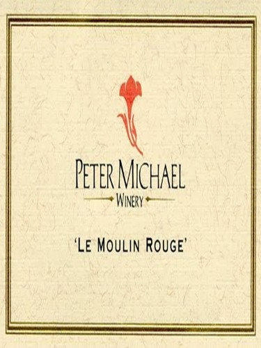 彼特麥克紅磨坊黑皮諾干紅Peter Michael Winery Le Moulin Rouge Pinot Noir