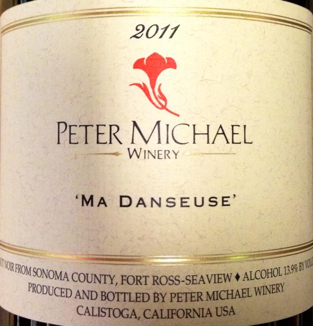 彼特麥克芭蕾女黑皮諾干紅Peter Michael Winery Ma Danseuse Pinot Noir